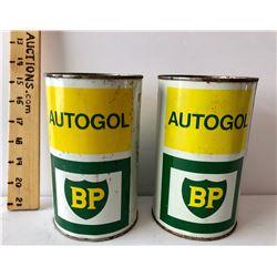 GR OF 2, BP AUTOGOL TINS - FULL