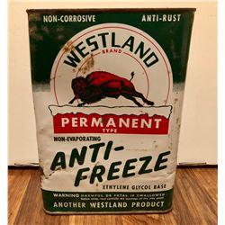 WESTLAND ANTI-FREEZE CAN