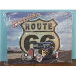 ROUTE 66 SST SIGN - REPRO