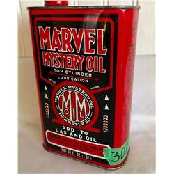 MARVEL MYSTERY OIL TIN, 1 QT SIZE