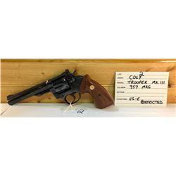 COLT, TROOPER MK III, .357 MAG