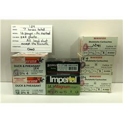 AMMO: 160 ROUNDS 12 GA - WINCHESTER / IMPERIAL / BISMUTH