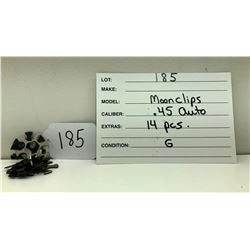 GR OF 14 MOONCLIPS FOR .45 AUTO