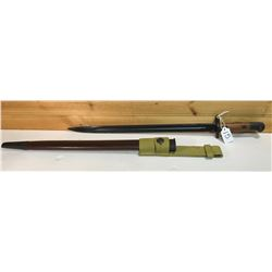 LITHGOW 1943 BAYONET WITH SCABBARD