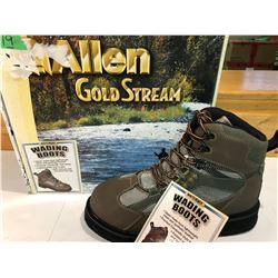 ALLEN GOLD STREAM WADING BOOTS - SIZE 10 - NEW
