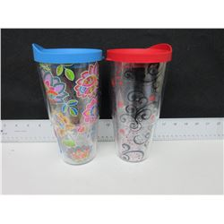 2 New 24oz Hot & Cold Tervis Tumblers 24.99tags [ 50 dollar value ]