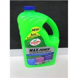 New Turtle Wax MAX-Power Car Wash  2.95L / removes dirt/bugs/mud/salt