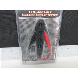 New 110 - 460 volt Electric Circuit Tester / Test both AC & DC current