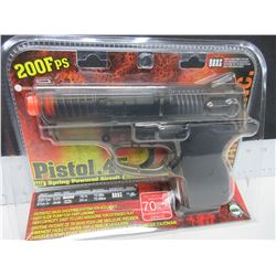 New Air Soft .45 Cal Pistol / 200fps large magazine 70bb's