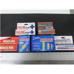 New First Aid Bundle / Band Aids and First Aid Creams / great value bundle
