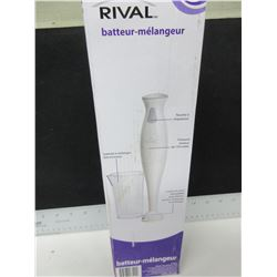 New Rival Hand Blender / stainless blade chops , purees , minces+blends