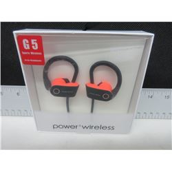 New G5 Sport Wireless Power 3 Headphones with Mic and many more features