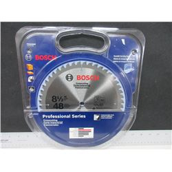 "New Bosch Carbide Crosscut Blade 48 teeth Professional series 8 1/2"" 5/8 arbor"