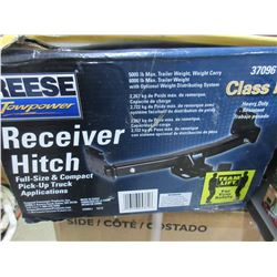 New Reese 5000lb Hitch / No welding required fits most Vehicles fully adjustable