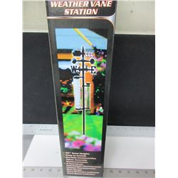 "New Weather Vane Station 56"" high / 5 funtions"
