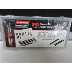 New 20 piece Clevis Pin Assortment
