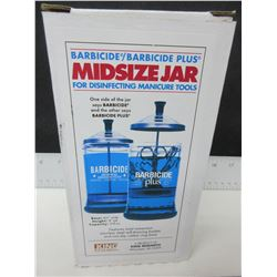 New Barbicide Midsize Jar for disinfecting Manicure Tools