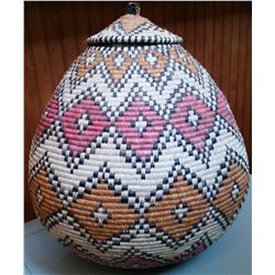 Traditional Zulu Basket
