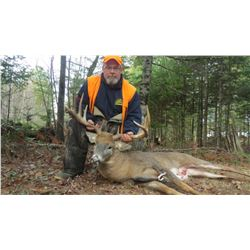 New Brunswick 2-for-1 Whitetail Deer Hunt