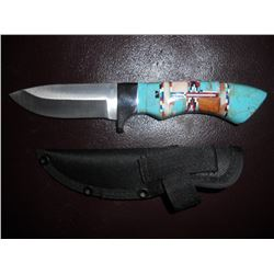 Navajo Turquoise Knife