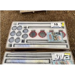 LED (16) PIECE LIGHT BAR SET