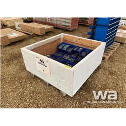 PALLET OF BOLTS, NUTS & CLAMPS