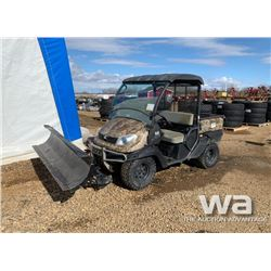 2009 KUBOTA RTV 500 SIDE BY SIDE ATV