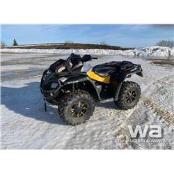 2010 CANAM 800 OUTLANDER XT ATV