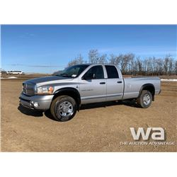 2006 DODGE 2500 CREW CAB PICKUP