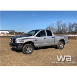 2009 DODGE 2500 CREW CAB PICKUP