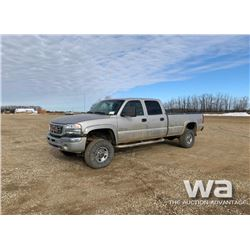 2006 GMC SIERRA 3500 PICKUP