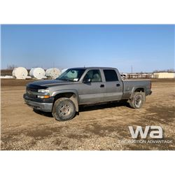 2002 CHEVROLET 2500HD CREW CAB PICKUP