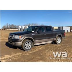 2006 FORD F150 KING RANCH CREW CAB PICKUP