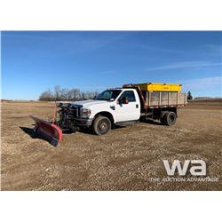 2008 FORD F350 XLT FLATBED TRUCK
