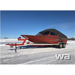 2005 JETCRAFT 21.5 FT. RIVER BOAT