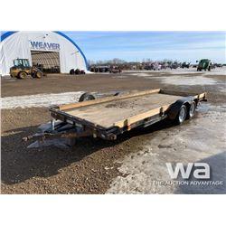 2012 BIG TEX T/A CAR HAUL TRAILER