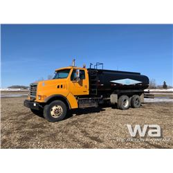 2000 STERLING T/A WATER TRUCK