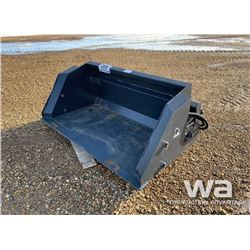 "WOLVERINE EXTENDABLE 72"" SNOW BUCKET"