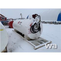 1,000 GAL. DBL WALL FUEL TANK