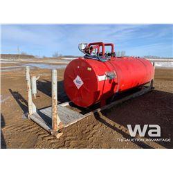 2008 CANWEST 4,240L DBL WALL FUEL TANK