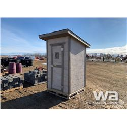 DELUXE TWO SEATER OUTHOUSE