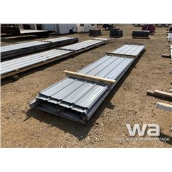21 FT. STEEL ROOFING