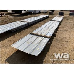 28 FT. STEEL ROOFING