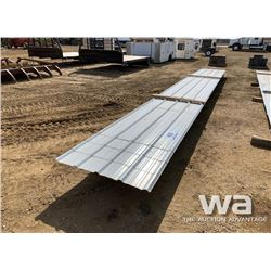 23 FT. & 28 FT. STEEL ROOFING