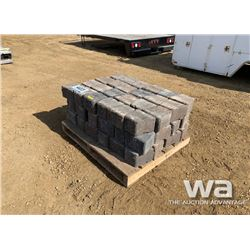 PALLET OF ALLEN BLOCKS