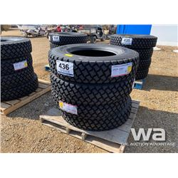 (4) LONGMARCH 11R24.5 DRIVE TIRES