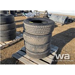 (4) GOODYEAR WRANGLER 265/65R18 TIRES