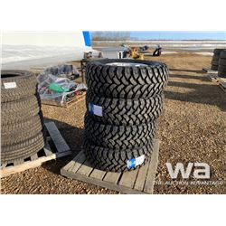 (4) LT235/12.50R17 TIRES & RIMS