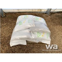 (16) 60LB BAGS OF SEED