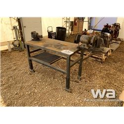 WELDING TABLE, GRINDER